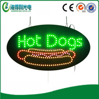 Made in China signs Hot dogs led lighting box