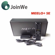 High quality MEELO SE DVB-S2 Twin Tuner Decoder Linux Receiver 1300 MHz CPU digital satellite tv box