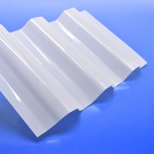 Fast installation white polycarbonate plastic roofing sheet
