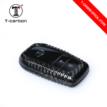 T-carbon Carbon Fiber Key case Key Cover Fob For Toyota