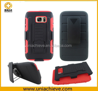 Robot Combo Case for Samsung Galaxy S7/S7 edge Red