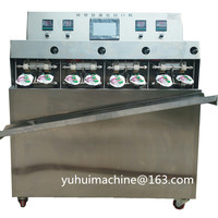Small Juice Water Plastic Bag Liquid Filling Sealing Machine pre made pouch liquid filling sealing machine