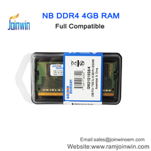 Online shopping HongKong price 4gb memoria ddr4 ram for laptop