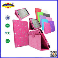 DIAMOND BLING SPARKLY LEATHER FLIP CASE COVER FOR APPLE iPAD and VARIOUS TABLETS