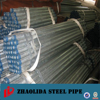 steel pipe manufacturer ! bs 1387&bs4568/hot sale galvanized steel pipe pot rolling galvanized pipe