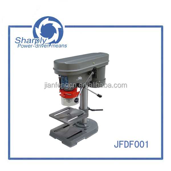central machinery drill press parts 350w good quality drill press(JFDF001),adjustable 5 speeds 15kgs portable drill machine