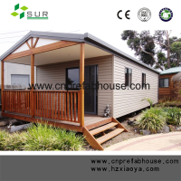 good price Luxury type container house/wooden log Container home/shipping container log house