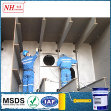 Anti corrosion acid resistant epoxy paint for steel