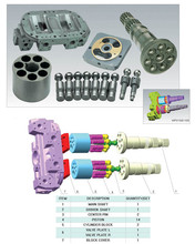Hydraulic pump spare parts for Hitachi HPV145