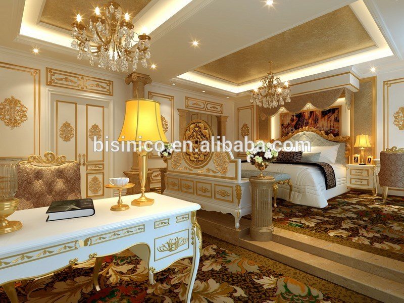 High Definition Luxury 3D Interior Design And Rendering For European Villa