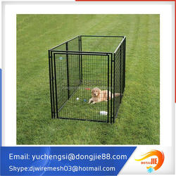 1.5x1.8m welded wire panelx6 Australian standard Large outdoor galvanized welded pet enclosure/dog kennels & dog cage & dog runs