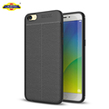 Ultra Slim TPU Leather Back Case Protective Case Cover For OPPO R9S Plus
