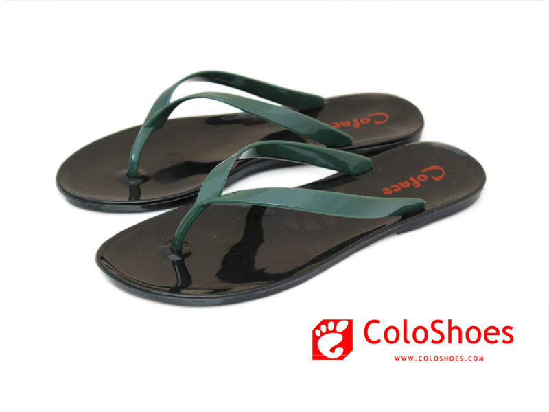 Coface fashion black sandalias for ladies