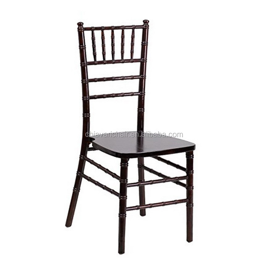 Black Color Commercial Wood Chiavari Chairs