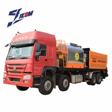 HOWO Chassis Bitumen distribution Truck Synchronous Chip Sealer