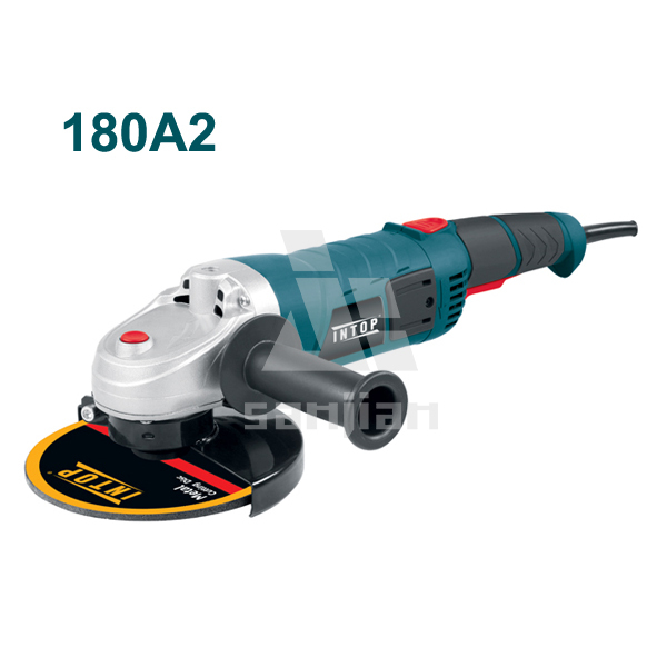 Gasoline Angle Grinder 1800W 180MM Power Tools 180A2 Hand Stone cutter