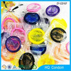 2015 Wholesale Best Quality 100% Natural Latex Colored Use Sex Condom