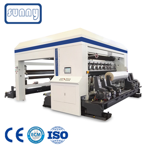 SUNNY MACHINERY CE Certificate Plastic Film Slitting and Rewinding Machine for Packaging Rolls