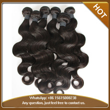 Wholesale virgin Brazilian hair Body wavy Brazilian virgin human hair weaving/wefts