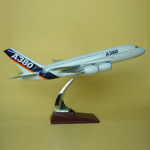 Airbus A380 scale 1:150 resin toy plane,scale model airplane,aircraft toy model