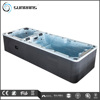 hot sales outdoor endless pool, above ground spa pool fiberglass pool