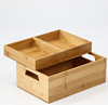 Wholesale Bamboo Cosmetic Organizer Box Jewelry/Accessory & Cosmetic Storage Display Boxes