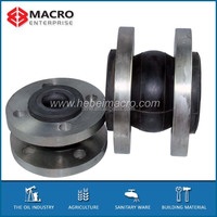 DIN 2576 rubber expansion joint flange type