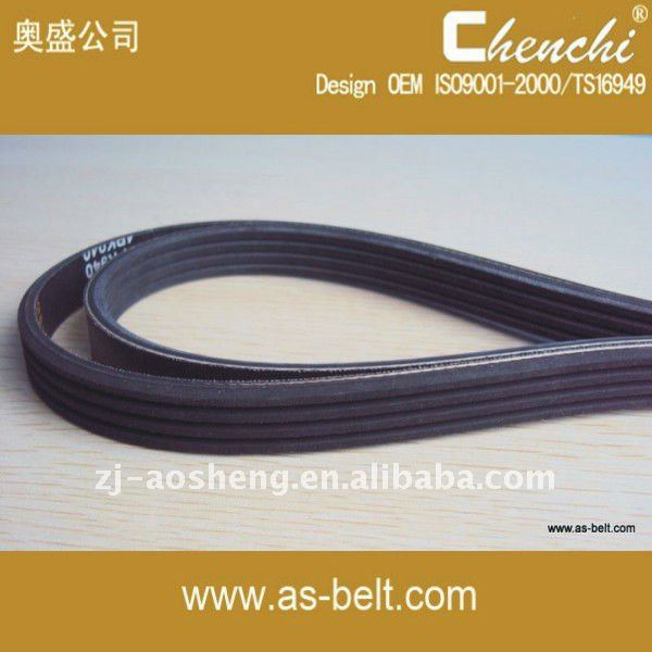 CR/EPDM/PU/PVC motorcycle genuine machine timing belt pk belt 3PK815 4PK815 4PK840 4PK850 5PK975 5PK1210 7PK2290 7PK2300 7PK2345