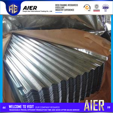 Hot selling color corrugated roof sheets for metal building farm tianjin hualu with great price