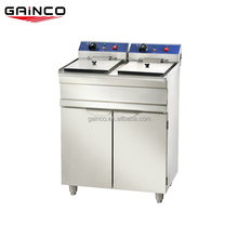 Double 15Lelectric chicken deep fryer for potato chip