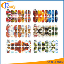 Hot sale nail art tattoo decorations multiple sets of sticker