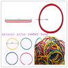 mixed color rubber bands durable elastic natural rubber