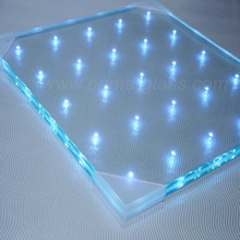 Prima excellent quality led laminated glass for interior glass wall