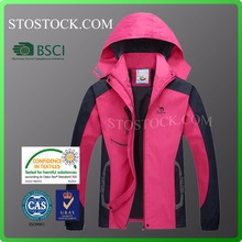 Plain Varsity bomber Custom wholesale army jacket in woodland for winter ski woman windbreaker