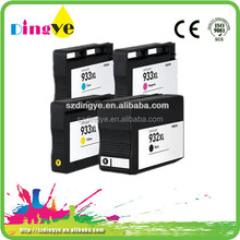 Printer refillable ink cartrige for HP932 and HP933 with high quality and reasonal price