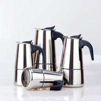 Handy Coffee Percolator 4/6/9 cups espresso machine/coffee pot with different Capacity