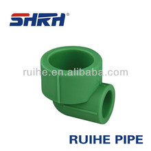 Manufacturer elbow plastic brass insert ppr pipe fittings