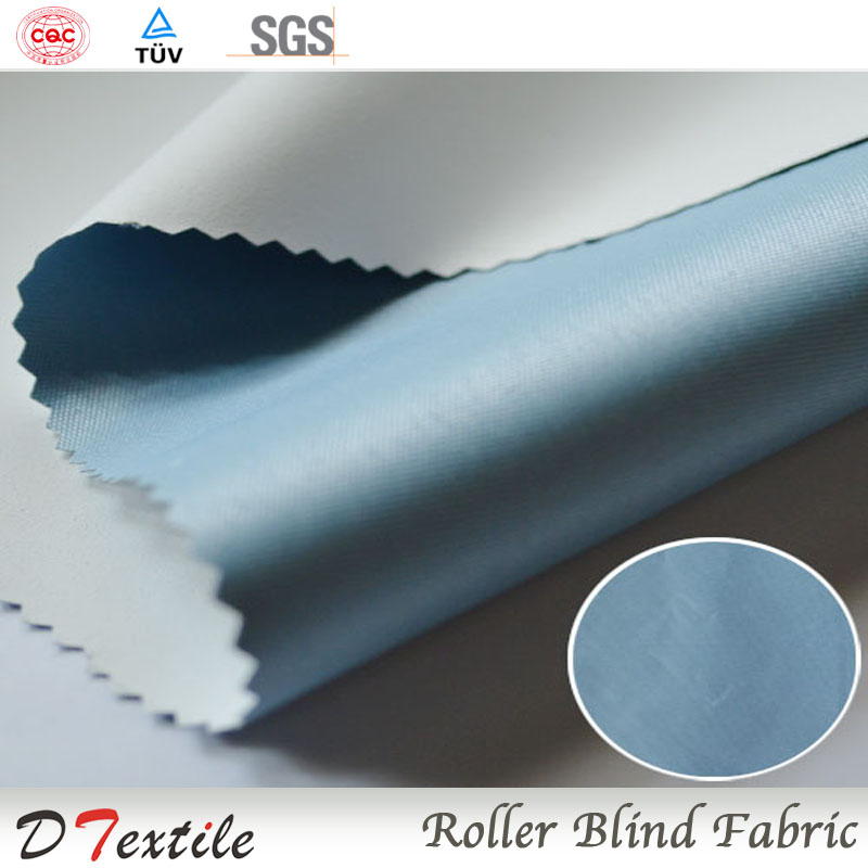 Wholesale fabric modern furniture design no minimum order white coating blackout roller blind fabric
