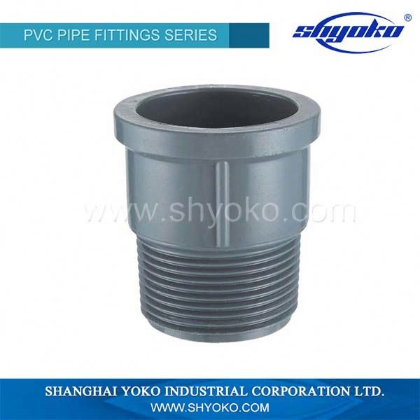 PN10 DIN Standard PVC fittings PN10 or PN16 DIN pvc pipe fitting 45 degree elbow