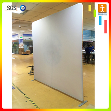 custom free design Exhibit Booth Design Easy Stand Custom Pop Up Wall Display