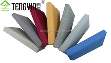 China good price factory production ISO certification clothing fabric acoustic insulation wall panel
