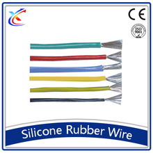 high temperature silicone rubber coated multi strand electrical wire
