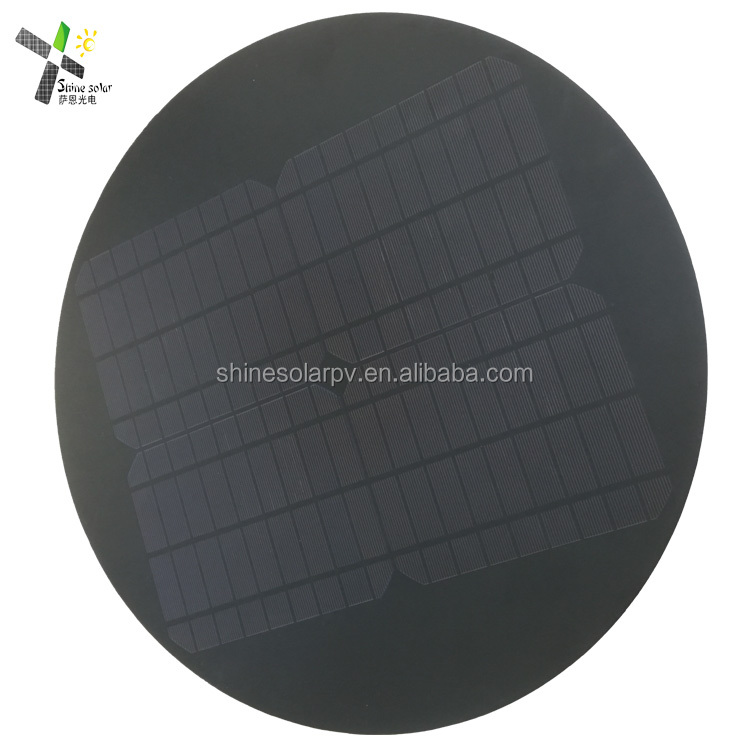Round Solar Panel 1W 2W 3W 5W 10W 15W 20W 25W Custom Shape Solar Panel For Outdoor Light Lamp