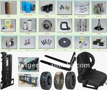 various style forklifts trucks parts sideshaft fork positioner paper pell clamp rim seat