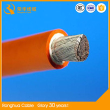 30 years electric cable manufacture, welding cable specifications copper welding cable