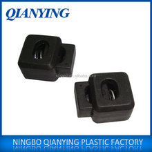 Plastic Double Holes Rope Lock Stopper Buckle In Stock