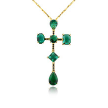 tourmaline crystal semi joias pingente necklace