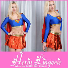 Cheap newly sexy girl super hero costume
