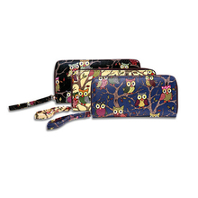 western popular high quality Retro owl lady <strong>wallets</strong>