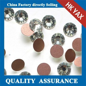 2mm 3mm 4mm 5mm SS6 SS10 SS16 SS20 Clear Crystal glue on nails art high quality non hot fix flatback rhinestones
